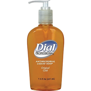 Dial® Antimicrobial Hand Soap, 7.5 oz.