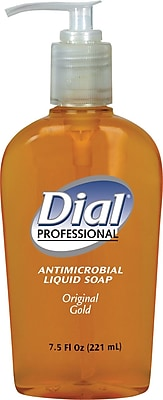 Dial® Gold Antimicrobial Hand Soap, 7.5 oz.
