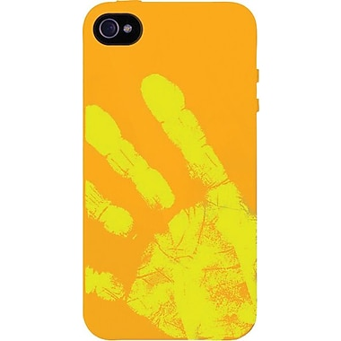 XtremeMac Tuffwrap Shift iPhone 4s Case, Orange/Yellow