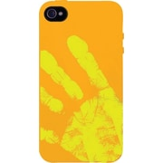 XtremeMac Tuffwrap Shift iPhone 4s Case, Orange/Yellow