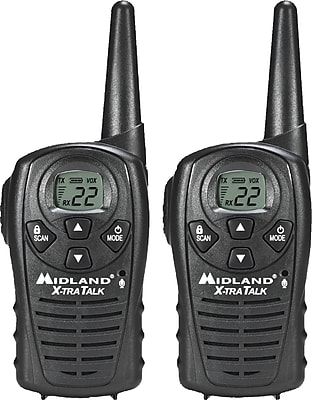 Midland® Two-Way Radios, LXT118VP, Up to 18-Mile Range