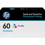 HP 60 Tricolor Economy Ink Cartridge (B3B06AN)