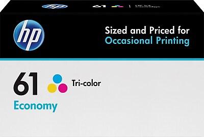 HP 61 Tricolor Economy Ink Cartridge (B3B08AN)