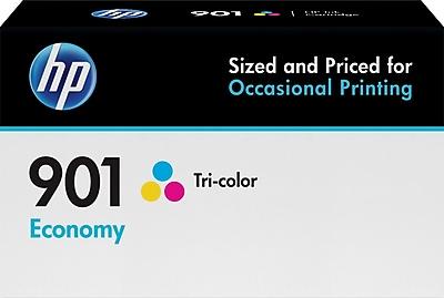 HP 901 Tricolor Economy Ink Cartridge (B3B10AN)