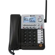 AT&T SB67148 SynJ™ 4-Line Cordless Deskset Black