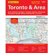 MapArt Toronto & Area Street Guide