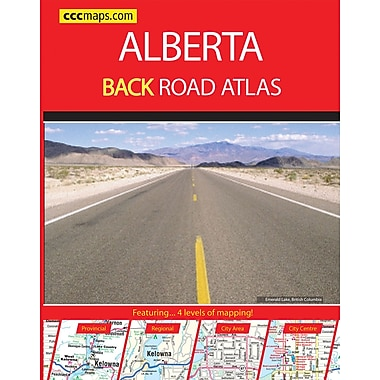 MapArt Alberta Road Atlas