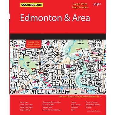 MapArt Edmonton & Northern Alberta Street Guide