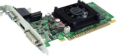 HP® NVIDIA GeForce 8400 GS GPU 1 GB 64-Bit DDR3 Memory Low Profile Ready Video Card