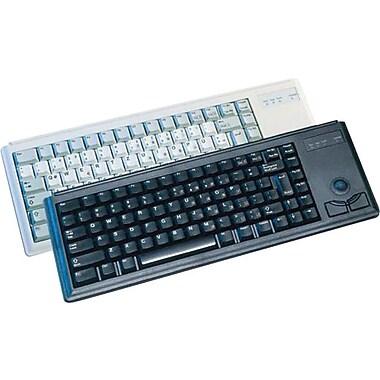 CHERRY® Black 83 Keys PS/2 G84-4400 Compact Ultraslim Keyboard
