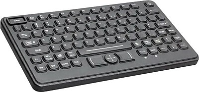 CHERRY J842120LUBUS2 Backlit Washable POS Keyboard, Black IM1KE4618