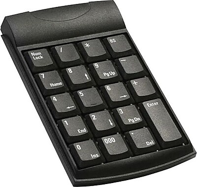 Unitech Black 19 Keys USB Numeric Keypad