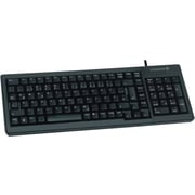 CHERRY® Black 103/104 Keys USB G84-5000 Ultraslim XS Complete Keyboard