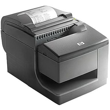 HP® 203 dpi 200 mm/sec Slip: 16 mm/sec Direct Thermal/9 Pin Impact Hybrid Receipt Printer