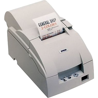 Epson® TM-U220B ECW 4.7/6 lps At 40/30 Columns 9 Pin Serial Impact Dot Matrix Receipt Printer