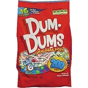 Dum-Dums® Lollipops, 200ct Bag
