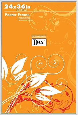 Dax U-Channel Poster Frame, Clear, 24
