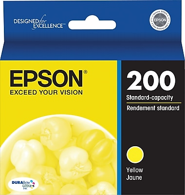 Epson 200 Yellow Ink Cartridge (T200420-S)