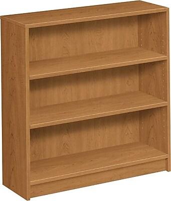 HON 1870 Series 36'' 3-Shelf Bookcase, Harvest (HON1872C)