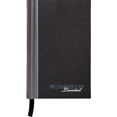 Cambridge® Casebound Notebook, Legal Ruled, 3-1/2
