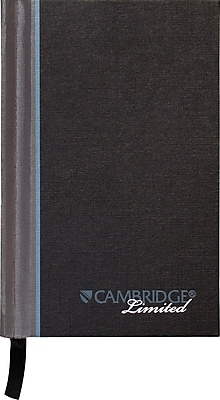 Cambridge® Casebound Notebook, Legal Ruled, 96 Sheets, 3 1/2