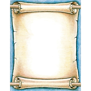 Royal Brites® Designer Printed Scroll Poster Board, 22