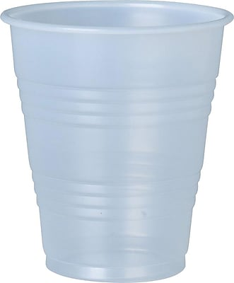 Solo® Galaxy® Plastic Cold Cups, 12 Oz., Clear, 50/Pk