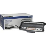 Brother TN750 Black Toner Cartridge, High Yield (TN750)