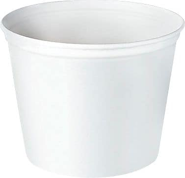 Solo® Double-Wrapped Paper Buckets, 165oz.