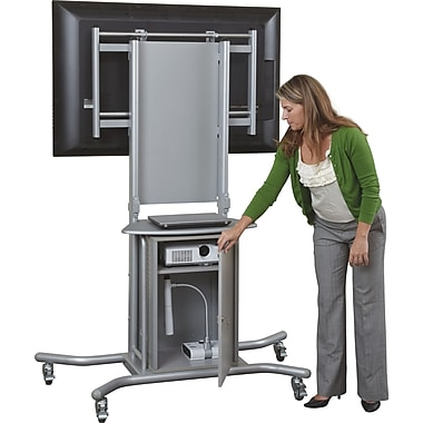 Balt Elevation™ Locking Cabinet, Silver