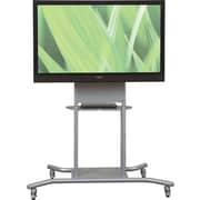 Balt Elevation™ Flat Panel Stand with Electrical, Silver