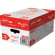 Staples® - Papier à copies, 20 lb, 8 1/2 po x 11 po, bte