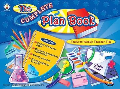 Carson-Dellosa The Complete Plan Book