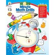 Carson-Dellosa More Minute Math Drills Resource Book, Grades 1 - 3