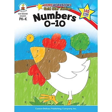 Carson-Dellosa Numbers 0-10 Resource Book