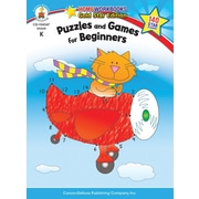 Brighter Child 104347 Puzzles and Games for Beginners Resource Book