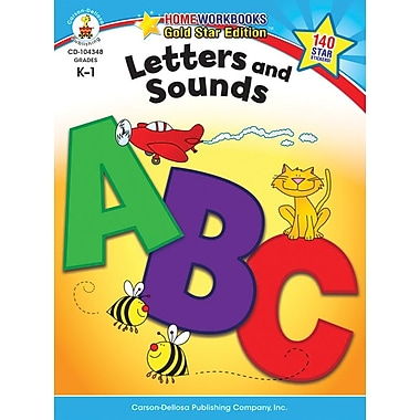 Carson-Dellosa Letters and Sounds Resource Book