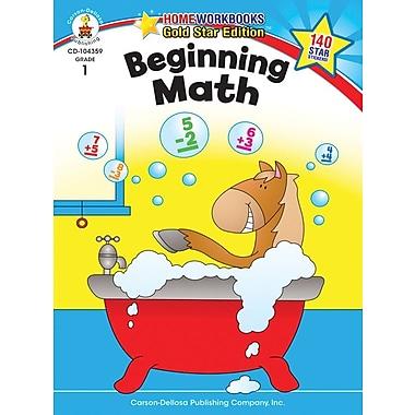 Carson-Dellosa Beginning Math Resource Book, Grade 1