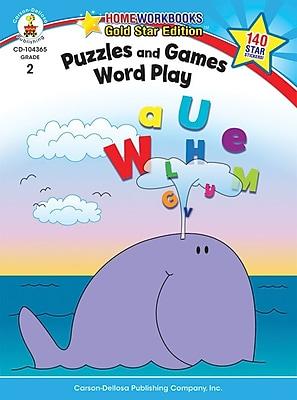 Carson-Dellosa Puzzles and Games: Word Play Resource Book, Grade 2