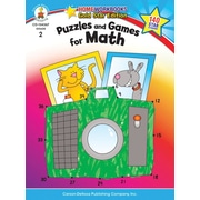 Carson-Dellosa Puzzles and Games for Math Resource Book, Grade 2