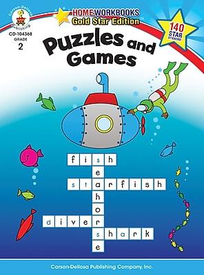 Carson-Dellosa Puzzles and Games Resource Book, Grade 2