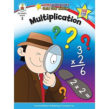 Carson-Dellosa Multiplication Resource Book