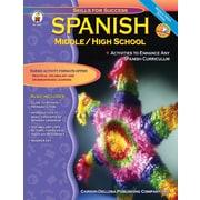 Carson-Dellosa Spanish Resource Book, Middle/High School