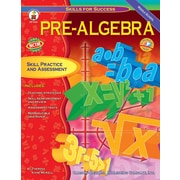 Carson-Dellosa Pre-Algebra Resource Book, Grade 6-8 (4323)