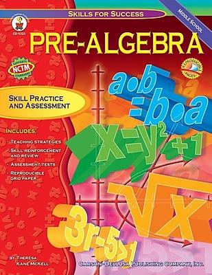 Carson-Dellosa Pre-Algebra Resource Book, Middle School