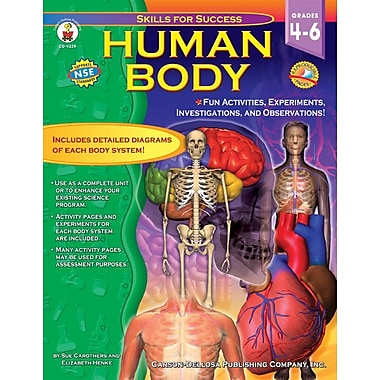 Carson-Dellosa Human Body Resource Book, Grade 4-6 (4329)