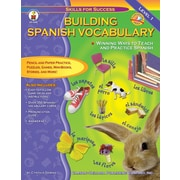 Carson-Dellosa Building Spanish Vocabulary Resource Book (4340)