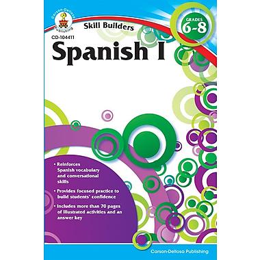 Carson-Dellosa Spanish I Resource Book, Grades 6 - 8
