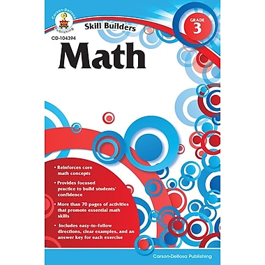 Carson-Dellosa Math Resource Book, Grade 3