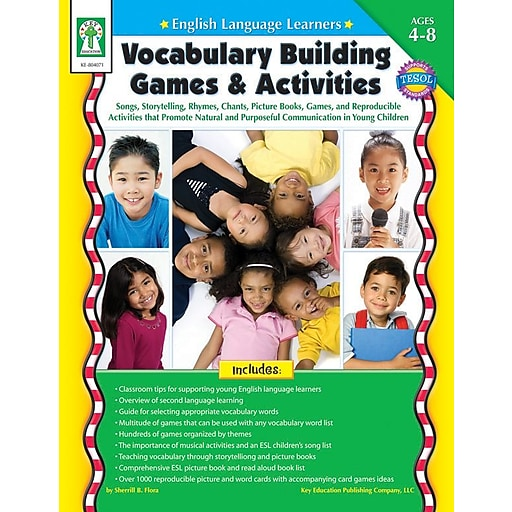 building vocabulary in english language learners What is the best way for english-language learners (ells) to build vocabulary in their new language are they better off learning new words with vocabulary exercises or by repeatedly encountering words in their reading a recent study of 50 high school ells in taiwan found that students who engaged.